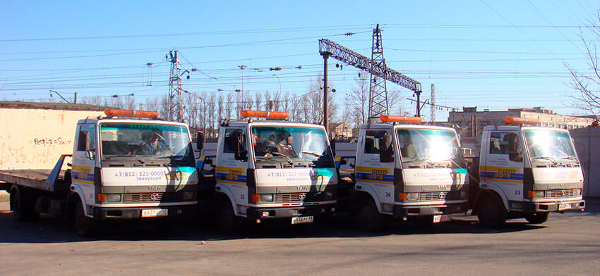 Эвакуаторы Вебер-Авто в СПб
